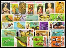 ANTIGUA 25 All Different Large Thematic Stamps-Mint Only
