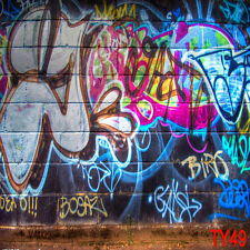 CP Graffiti Wall Vinyl Photography Background Backdrop Studio Prop 5X7FT TY49
