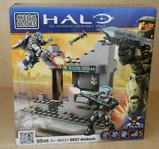 Brand New and Sealed Mega Bloks Halo ODST Ambush Build Kit / Set