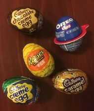 Ultimate Creme Eggs Combo!  Set of FIVE (5) OREO Reese's Cadbury Creme