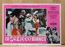 LO SCEICCO BIANCO fotobusta poster affiche Federico Fellini Alberto Sordi Roma