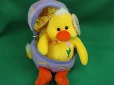 NEW MARCH OF DIMES BABY EASTER EGG SURPRISE CHICKEN COSTUME PLUSH STUFFED ANIMAL