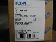 HFD3080 CUTLER HAMMER EATON HFD3080L NEW NO BOX  FREE SHIPPING