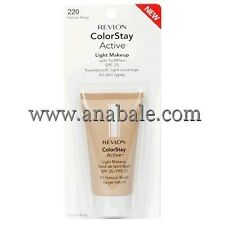 Revlon ColorStay Active Light Makeup w. SoftFlex, Natural Beige 220, anabale.com