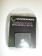 Gardner ATTs Tritium Max Betalight isotopes 2pk PURPLE Fishing tackle
