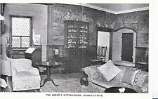 Scotland Postcard - The Queen's Sitting-Room - Glamis Castle - Angus   U4406