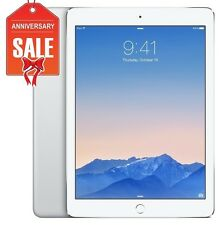 Apple iPad Air 2 16GB, Wi-Fi + 4G (Unlocked), 9.7in - SILVER - Grade B+ (R-