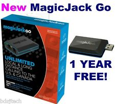 Magic Jack Go VoIP 2015 (Latest Model) plus 12 Months FREE Service Included