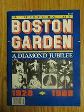 60th BOSTON GARDEN 1928-1988 Program ORR BIRD HAGLER PRESLEY KENNEDY AUTRY