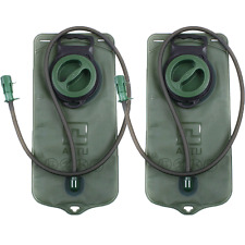 2x 2L Camelbak Hydration System Water Bag Pouch Backpack Bladder Sports V1Y5