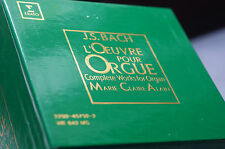 Rare Erato Bach Complete Works for Organ A Marie-Claire 17 Cds Boxset Superb!!!
