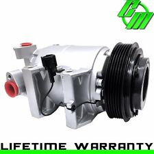 A/C Compressor and Clutch Fits Nissan Altima I4 2.5L 2002-2006 OEM DKS17D
