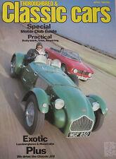 Classic Cars 04/1983 featuring Maserati, Allard, Alfa Romeo GTV, Lamborghini