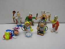 "Lot of 7 Asterix the Gaul  3"" PVC Figures from Belgium- 1995 (L9803)"