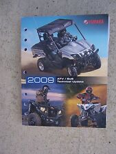 2009 Yamaha Motorcycle ATV SxS Technical Update Manual Many Models All Terrain L