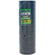 "NEW JACKSON WIRE 24""x150' FT 1"" BLACK VINYL CHICKEN POULTRY NETTING WIRE 6035109"