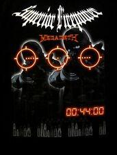MEGADETH cd lgo SUPERIOR FIREPOWER Official SHIRT XXL 2X New oop