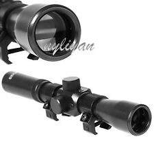 New 4X20 Optic Sniper Scope Reticle Sight For .22 caliber Rifles Hunting