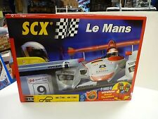 SCX ANALOG 2001 # 80500 LE MANS WIRELESS HAND THROTTLES SLOT CAR SET 1/32 C-3