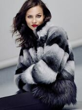 COAST BRONX FAUX FUR COAT in Multi Size UK14 EU42 US10 RRP£195