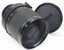 CANON FD Sigma 600mm 1:8 - Last Version with 96mm Front Thread -