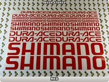 SHIMANO Stickers Decals Bicycles Bikes Cycles Frames Forks Mountain MTB BMX 59IE