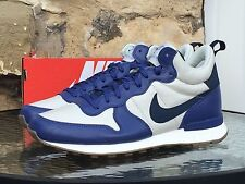 Nike Internationalist Mid Deluxe UK 8 Blue / White BNIB Vortex Omega Flame