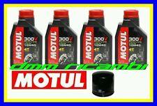Kit Tagliando SUZUKI GSR 600 09 10 + Filtro Olio MOTUL 300V 10W/40 2009 2010