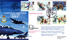 Chrtistmas Greetings from the Gulf FIown Signed General Sir Peter de La Billiere