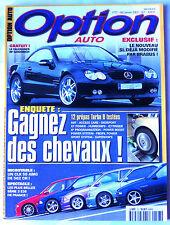 Option Auto n°127 du 12/2002; Essai 12 prépas turbo D testées/ CLK 55 AMG