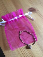 CHLOBO MINI NOODLE FLOWER DREAMBALL BRACELET - ROSE GOLD PLATED - USED