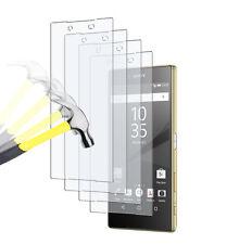 4 x PANZERFOLIE Sony Xperia Z5 Klar TPU Displayschutz Folie Screen Protector