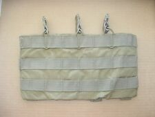 eagle industries 5.56 3 rifle mag pouch triple shingle molle khaki bungee 223 AR