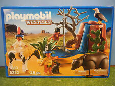 PLAYMOBIL #5252 WESTERN NATIVE AMERICANS  *NEW*