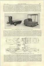 1921 Ransomes Sims Jeffreys Electric Trucks And Locomotive