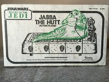 Vintage 1983 Star Wars ROTJ Jabba The Hutt Action Playset  Sealed Box Kenner
