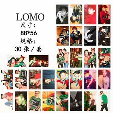 30pcs EXO-CBX Hey Mama CHEN BAEKHYUN XIUMIN Photo Poster KPOP Lomo Card Set