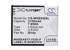 NEW Battery for Wiko 9261 Birdy birdy 4G Birdy Li-ion UK Stock