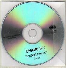 (BR553) Chairlift, Evident Utensil - DJ CD