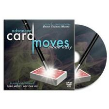 Advanced Card Moves Made Easy - Instructional DVD - Magic Tricks - New