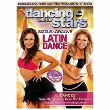 Dancing with the Stars: Sizzle & Groove Latin Dance (DVD, 2013)