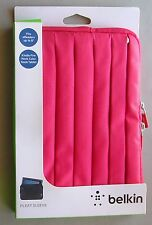 """Belkin Pleated Sleeve RED Case Cover Tabletr E READERS 8"""" Kindle, Fire, Nook"""