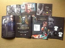 El notorio Connor McGregor UFC Cage Fighter programa oficial'17 Manchester