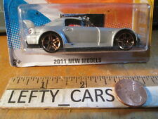 HOTWHEELS Silver HONDA S2000 SCALE 1/64 (2011 NEW MODELS) - ON LONG CARD