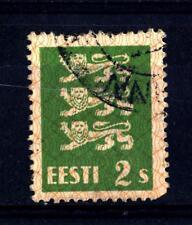ESTONIA - ESTONIA - 1928-1940 - Stemma del leone, nella nuova valuta