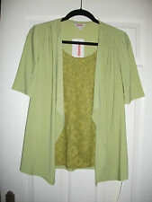 ladies 2 in 1 top from Essential Collection size 12 NEW