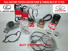 TOYOTA LEXUS ES300 ES330 CAMRY V6 FULL FACTORY OEM TIMING BELT KIT 3.0 & 3.3 LT
