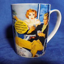 ANNE TAINTOR IF I HAD WANTED TO BE IGNORED I WOULD HAVE BOUGHT A CAT MUG - EUC