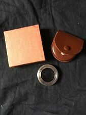 Zeiss Ikon 342 Contapol 3X S27 Polarizing Filter w/Case & Box Excellent Cond