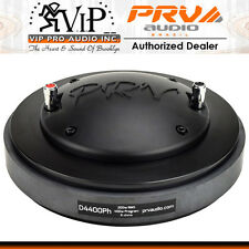"PRV Audio D4400PH  2"" PHENOLIC COMPRESSION DRIVER 400 Watts Mid-range Frequency."